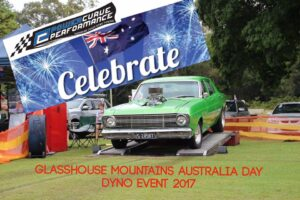 Australia Day Glasshouse Mountains power curve performance sunshine coast events dyno tuning fossil burn out australia day